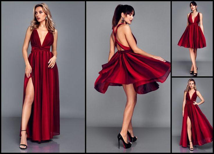 Multiway dress, Kleid hochzeitsgast, Infinity dress, Convertible dress, Bridesmaid dress, Homecoming dress, Prom dress, Graduation dress – Lucy prom