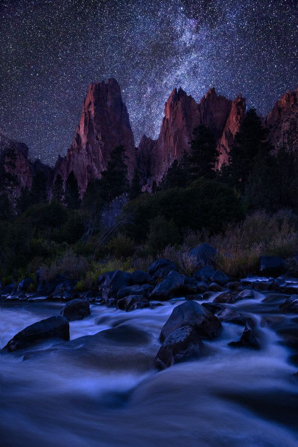Starry Skies Over Central Oregon