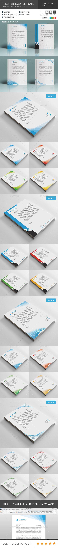 #Letterhead Template Bundle.Download here: http://graphicriver.net/item/letterhead-template-bundle/15751842?ref=arroganttype