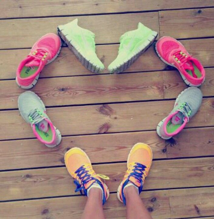 Running shoes ❤