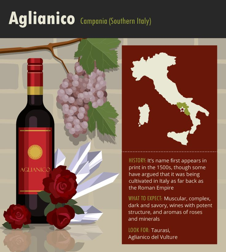 Aglianico Grapes #Wine #Wineeducation #Italy