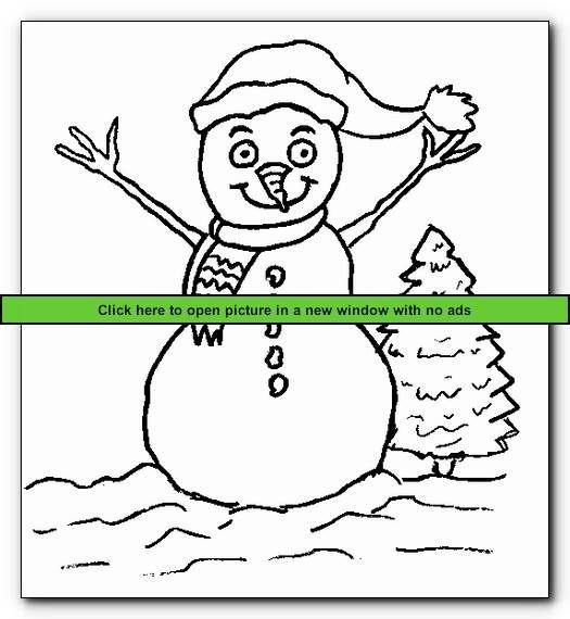 snowman 2 printable snowman coloring pages - Snowman Color Pages 2