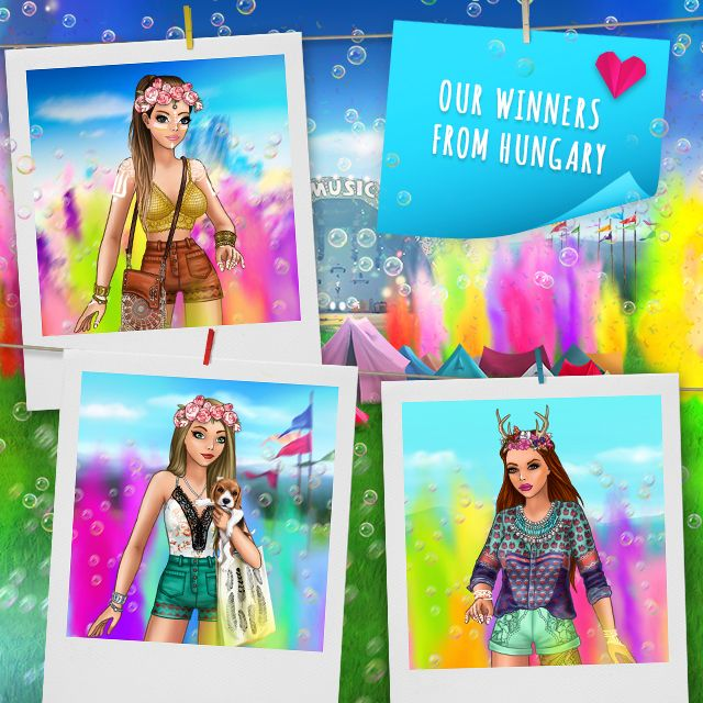 Color festival + mini collection Pose with Style winners HUNGARY