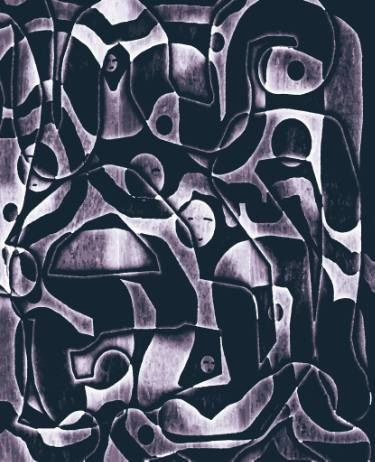 "Saatchi Art Artist ageliki baka; Painting, ""Factory - Limited Edition 1 of 7"" #art"