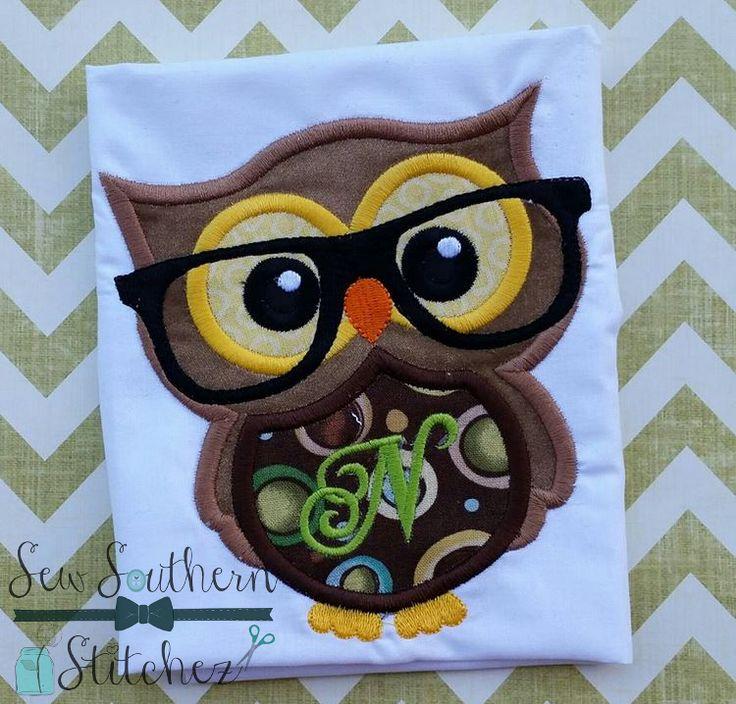 70 besten Owl Machine Embroidery Bilder auf Pinterest ...