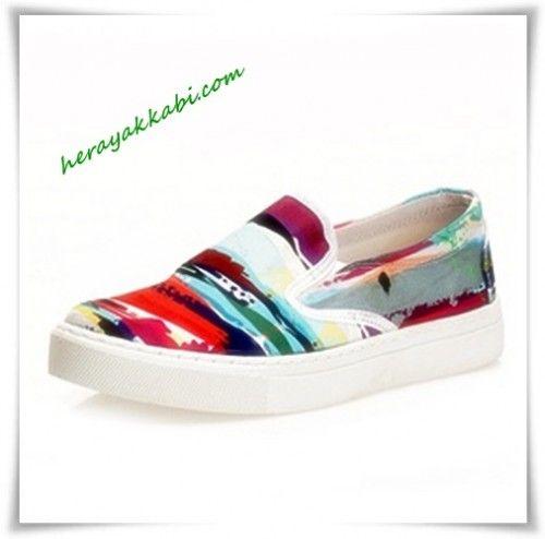 Bayan Flatform Ayakkabı Modelleri