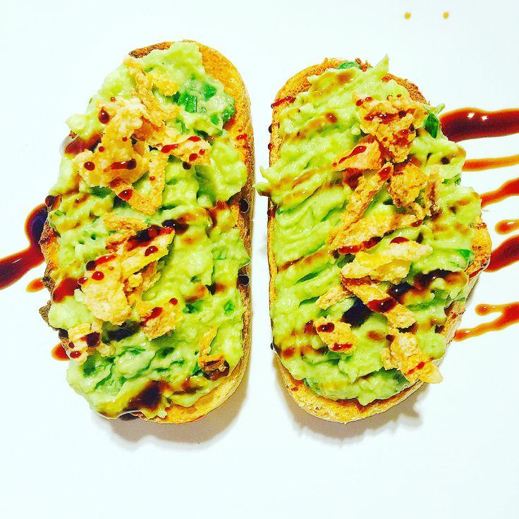 Y U M M Y !! Avocado on Toast   Check out my blog foodlifeandem.com for more recipe ideas