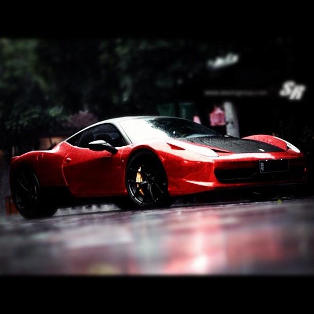 SR Auto Ferrari 458 Italia Now In China