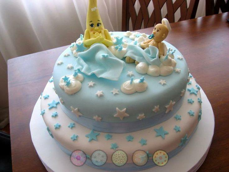 Torta Bautizo niño