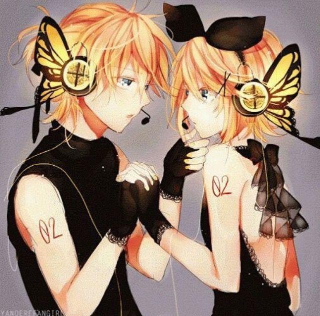 Rin and Len magnet