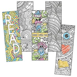 Color Your Own Bookmark Can Also Print Out Some