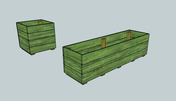 A la suite de la construction de mon abri de jardin il me reste un peu de bois , comme les jardinières de grandes tailles sont difficiles à trouver et surtout hors de prix... Ma femme à eu l'idée que je lui en fasse . J'ai donc fais quelques recherche...