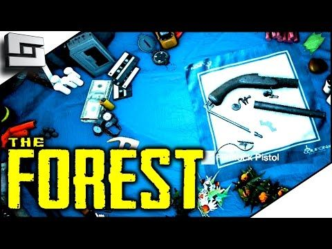 awesome The Forest - 6/8 FLINTLOCK PISTOL PARTS! S2E15 ( Multiplayer Gameplay )
