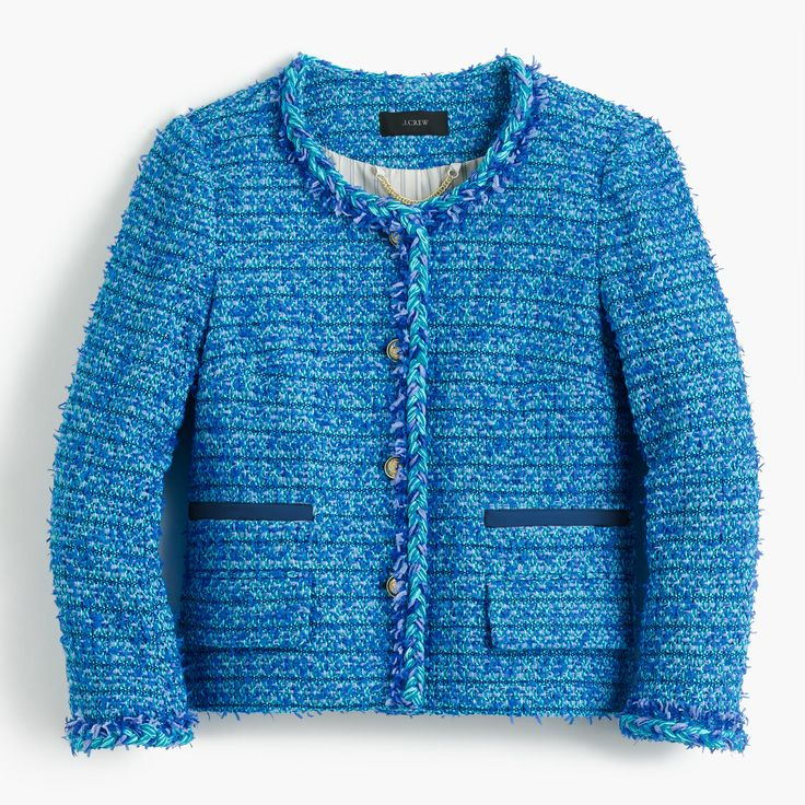 Collection lady jacket in English tweed : Women collection | J.Crew