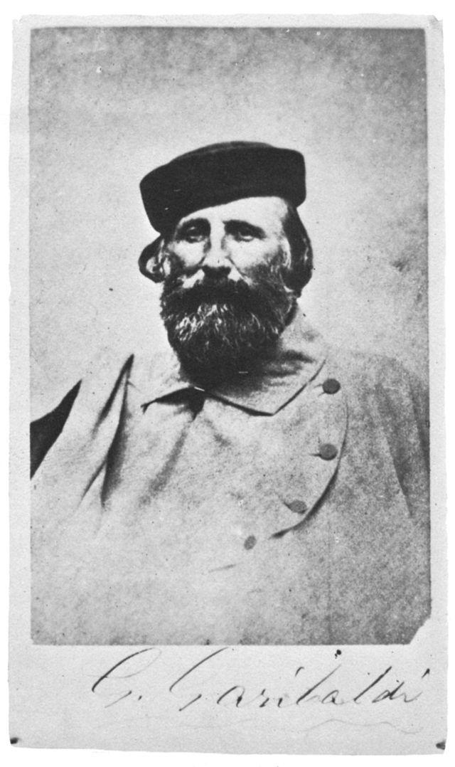 Giuseppe Garibaldi, 1870.