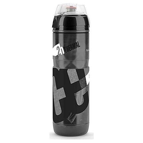 Bike Water Bottles - Elite Iceberg 650 Black Water Bottle 2016 *** Check out this great product.