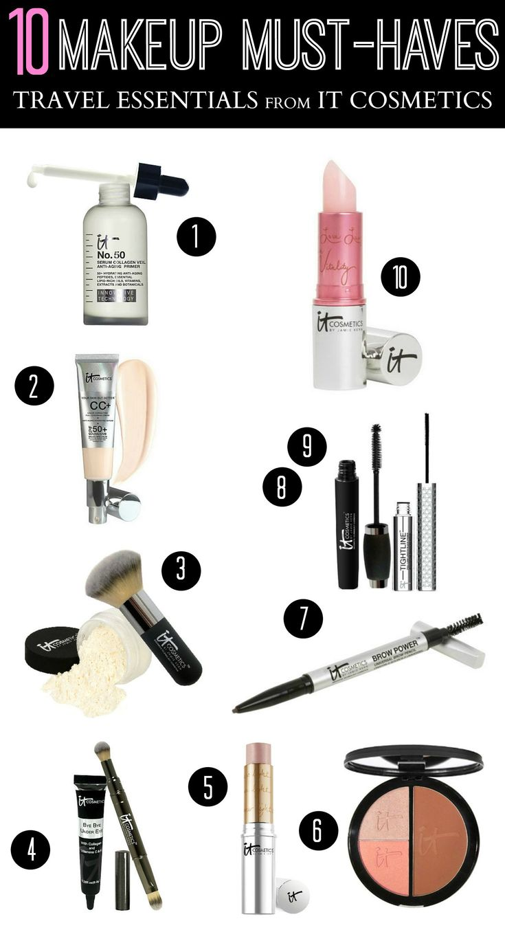 10 Makeup Must-Haves from IT Cosmetics
