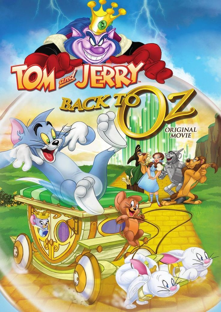 Мультфильм Том и Джерри Возвращение в страну Оз (2016) | thevideo.one - онлайн кинотеатр