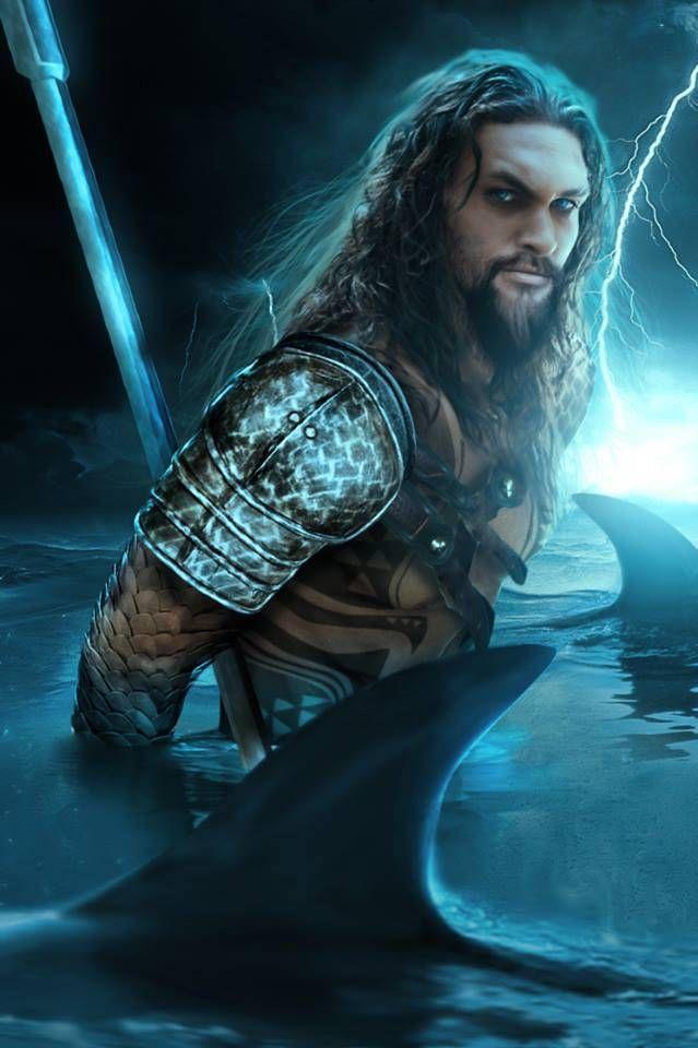 Jason Momoa as Aquaman by BossLogic