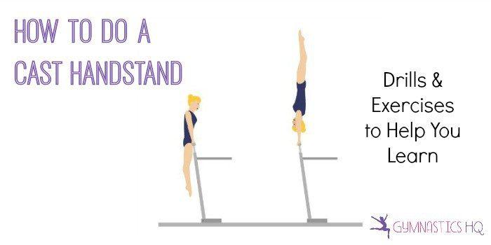 how to do a cast handstand