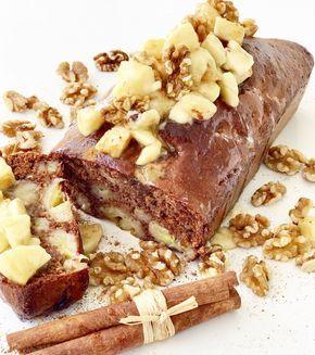 Banánovo - škoricový koláč bez cukru