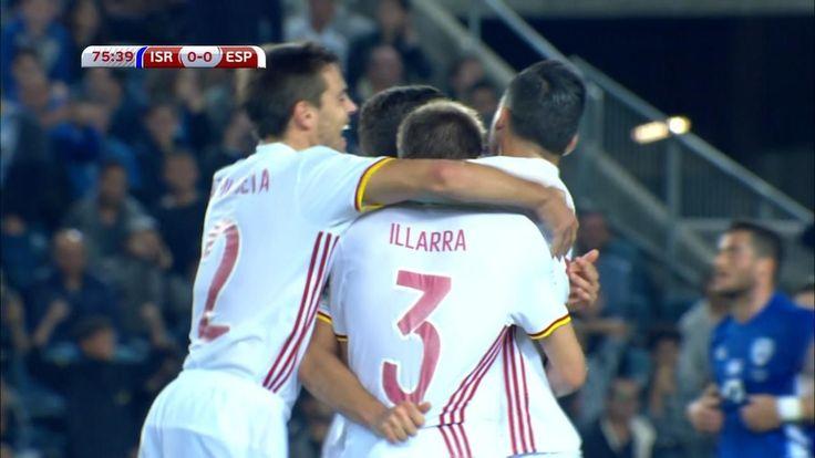 WATCH: Illarramendi's screamer puts Spain in front
