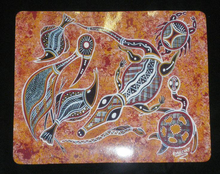 Aboriginal design Mousepad various designs $9.00 SPECIAL - 2 for $16.00