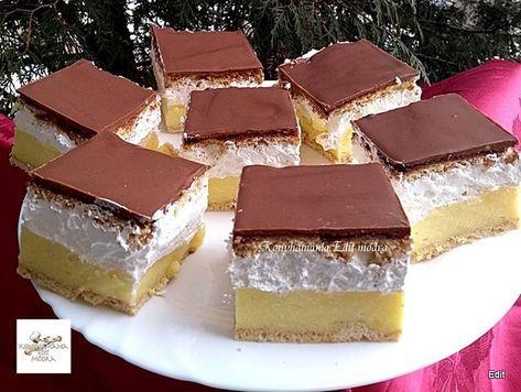 Mézes francia krémes, nagyon ízletes sütemény, ha még nem kóstoltad, érdemes elkészítened! - Egyszerű Gyors Receptek