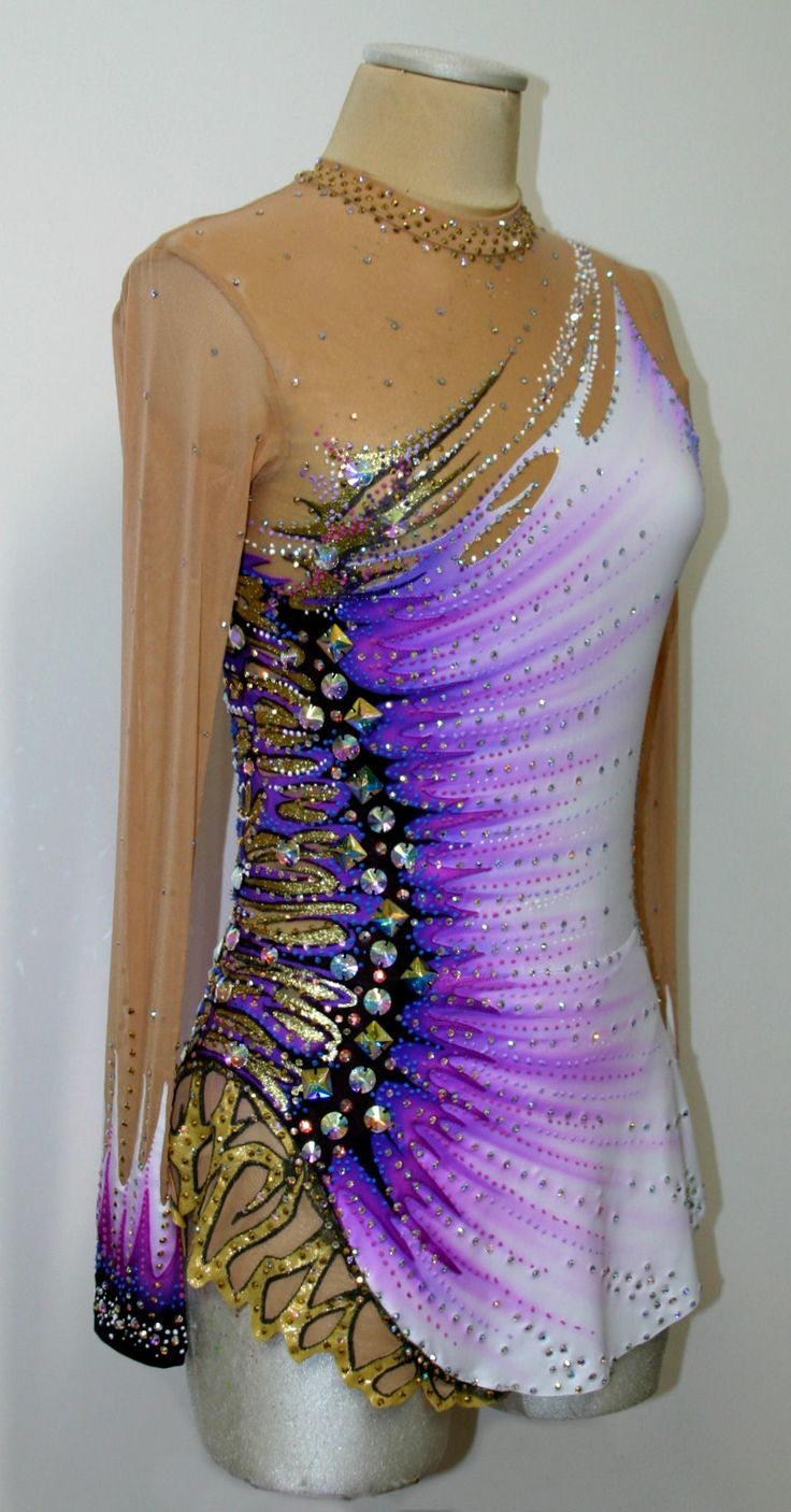 custom leotard  www.paintyourdreams.it just like Yana Kudryavtseva's!!