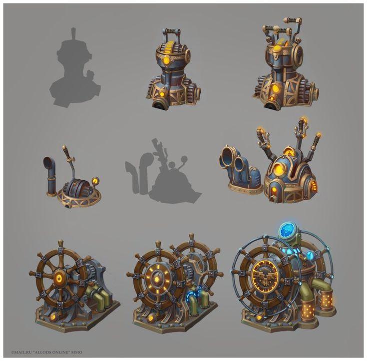 Ship Devices Tiers by e-danilov
