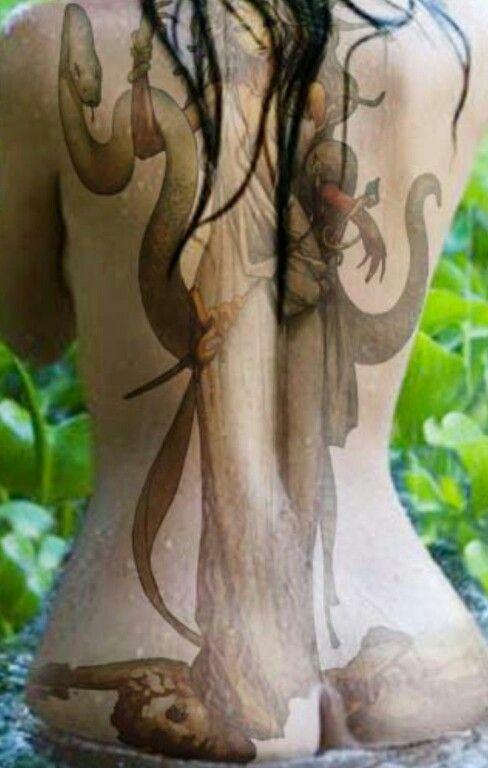 Goddess Spine Tattoo: 26 Best Images About Mythology Tattoos On Pinterest