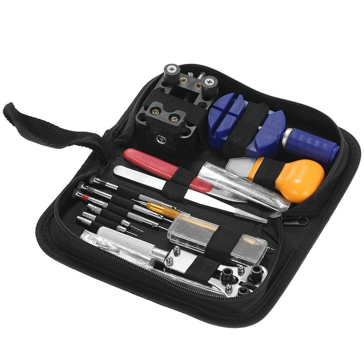146PCS Professional Watch Repair Tool Kit Watchmaker Case - Tomtop.com