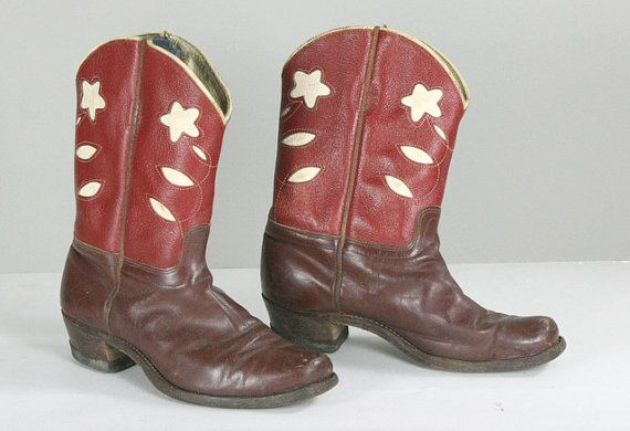Cowboy Cowgirl Boots Kids Western Wear by GooseberryVintage