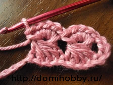 wave crochet...looks like broomstick lace, but much easier.
