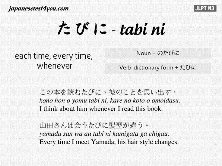 Learn Japanese Grammar JLPT N3