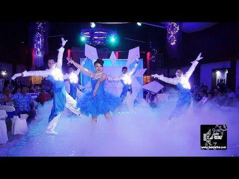 XV Años Lupita Vals Moderno Frozen Academias de Baile Foto y Video Zon Caribe - YouTube