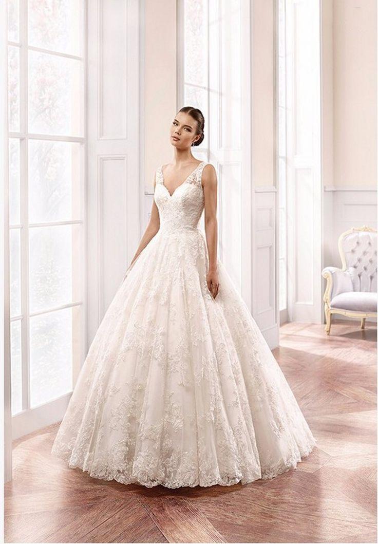 Pas cher robes de mari e l gante plus la taille pour for Plus la taille robe de mariage illusion