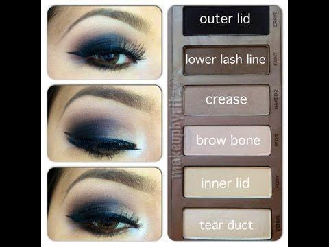 ♥Naked Basics Mini Review & Smokey Eyes Tutorial ♥