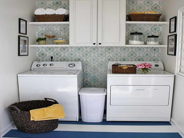 What to Consider in Laundry Room Makeover With Yellow Towel