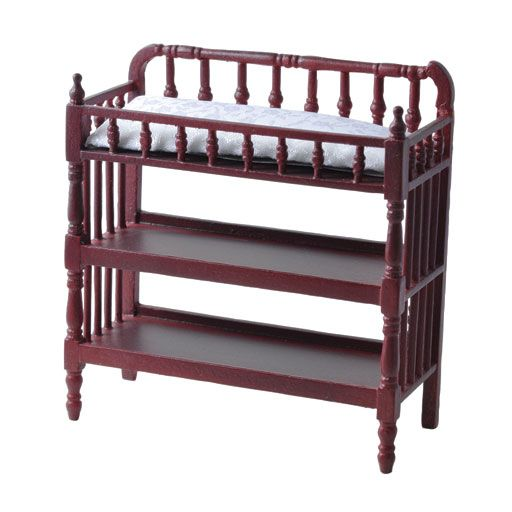 Mahogany Victorian Changing Table