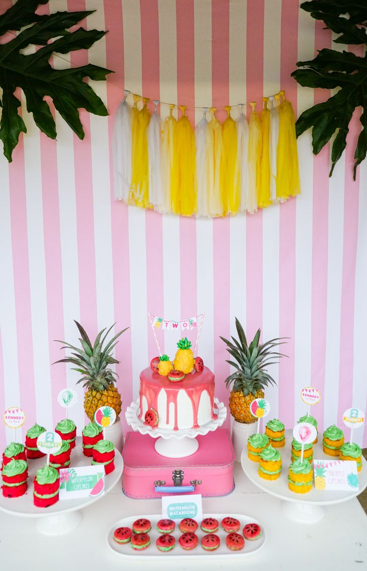 Aloha! Did you know the Spring Equinox is a mere one month away today? Time to throw out the woolies, dust off the cobwebs and get your tropical l luau | hawaiian hats on! Here is a tropical party set up to get your mouth watering...helloooooo Summer around the corner!