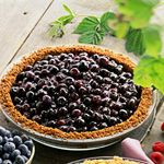 Open Faced Bluberry Pie | Pies & Cobblers | Pinterest