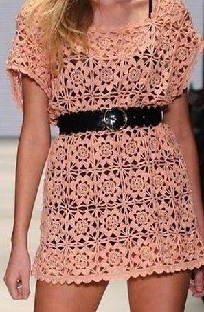 Ivelise Feito à Mão: Vestido De Squares