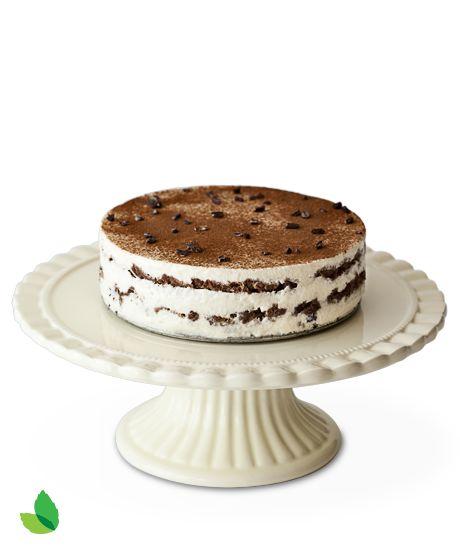 Gâteau à la mousse de tiramisu et au chocolat par Marissa Churchill