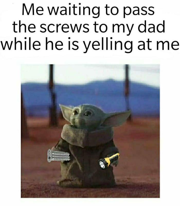 Flashbacks To My Youth Yoda Meme Yoda Funny Funny Memes