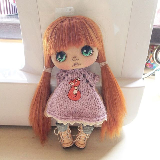 Вот еще фото малютки;) кто желает на нее аукцион, приглашаю☺️ #кукла #куклаолли #олли #аукционсейчас #аукционы
