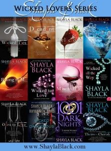 Wicked Lovers Series... The order - Shayla Black