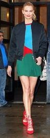 Karlie Kloss shows arrives at Good Morning America studios | Daily Mail Online