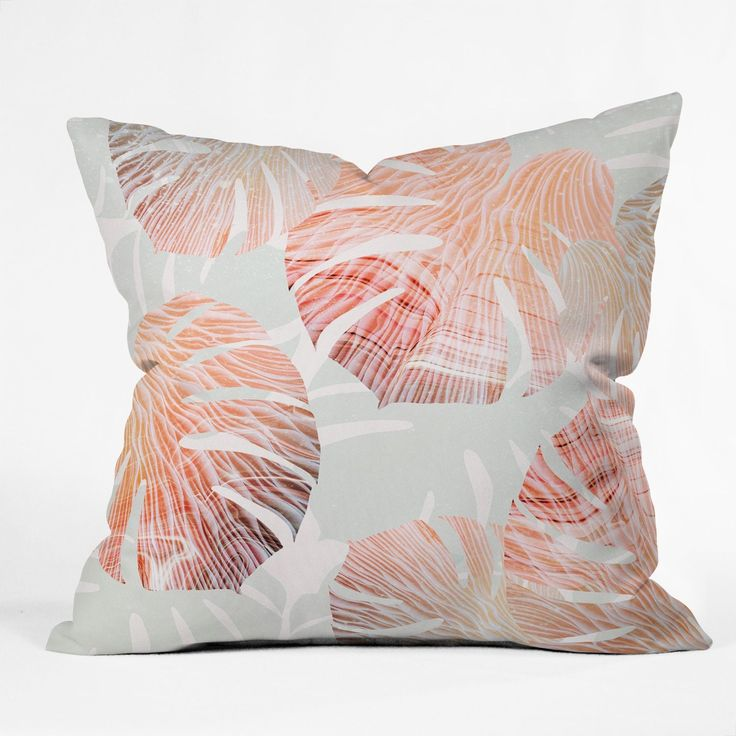 Iveta Abolina Beach Romance II Throw Pillow
