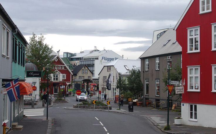 "Vesturgata (""west street""), where Isobel house-sat near the harbor."